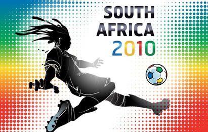 Póster de la Copa Mundial de Sudáfrica 2010