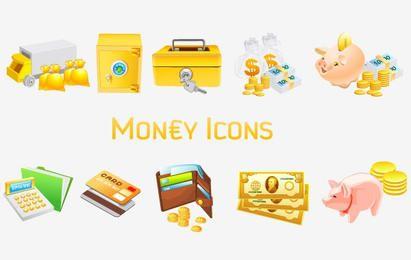 Iconos de dinero [Vista]