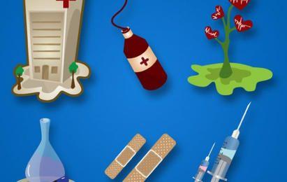 Pacote de vetores médicos
