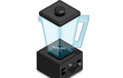 Free Vector: Liquidificador de alta velocidade