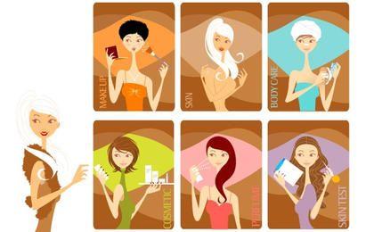 Meninas da beleza
