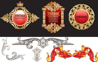 Vintage Decorative Vectors