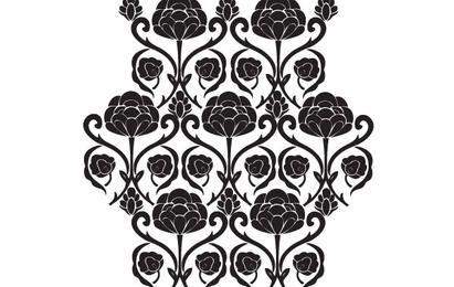 Ornamento floral libre del vector
