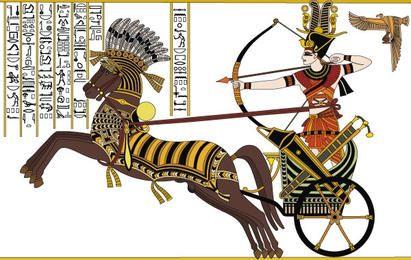 Ramses II in der Schlacht von Kadesh