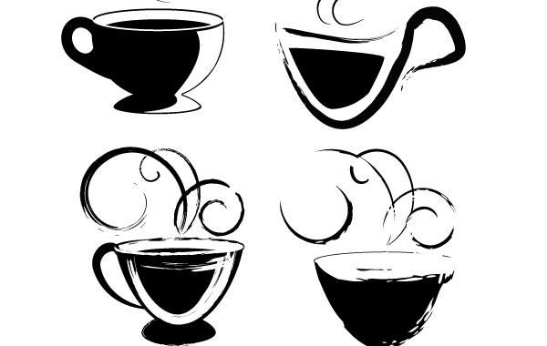 coffee cups drawings