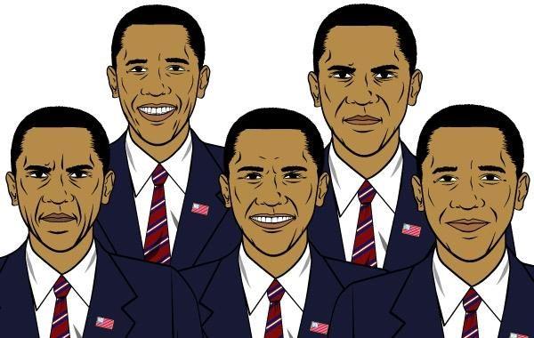 Conjunto de expressões de Barack Obama