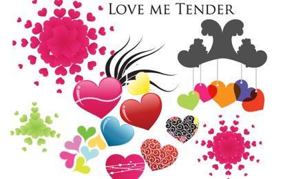 Tender amor corações