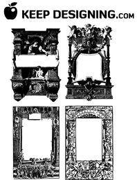 Fancy Antique Frame & Border Pack