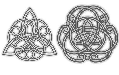 Couple of Celtic Tattoo Designs