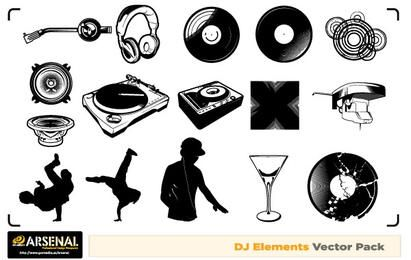 Free Dj & Graffiti vector artwork