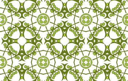 Floral framework pattern
