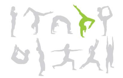 Free keep fit vectors give your designs a workout!