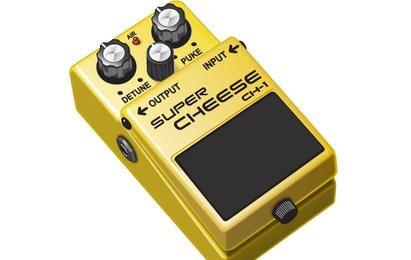 El pedal de guitarra y queso