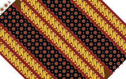 Textura padrão de Batik