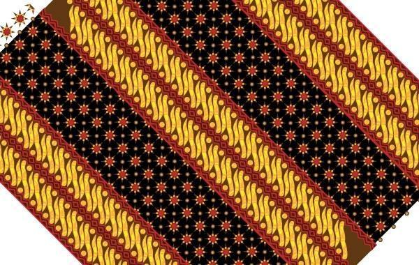 Batik patrón de textura