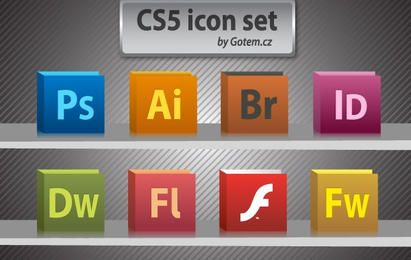 Free CS5 icon pack