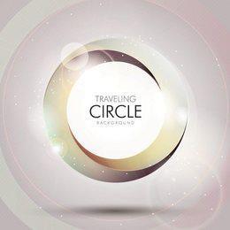 Torciendo el fondo del círculo vórtice