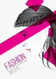 Artistic Girls Fashion Poster
