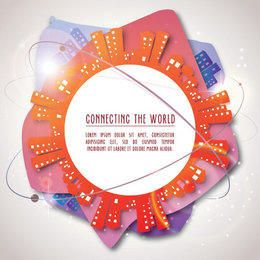 Connecting the World Background