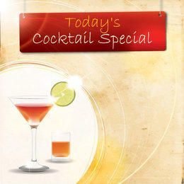 Cocktail Special Party Poster