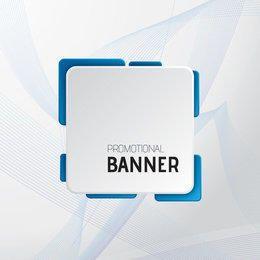 Spiral Liner Wave Promotional Banner