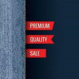 Premium Jeans Sales Promo