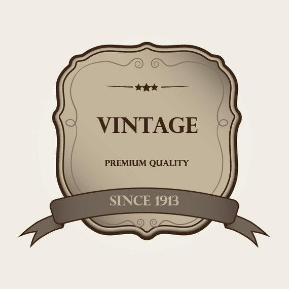 Decorative vintage label template vector download decorative vintage label template maxwellsz
