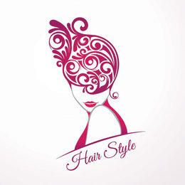 Girls Fashion Hair Style Swirls