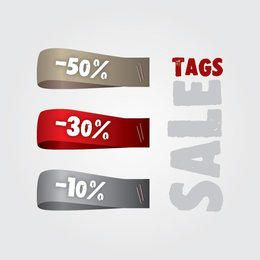 Sale Tag Strip Set