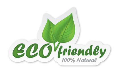 Eco Friendly Sticker Design