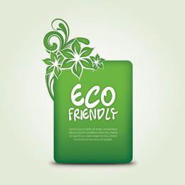 Pancarta Eco amigable