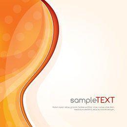 Orange Waves Cover Design