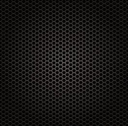 Glossy Honeycomb Metal Grill Texture