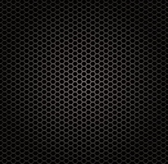 Glossy Honeycomb Metal Grill Texture Vector Download