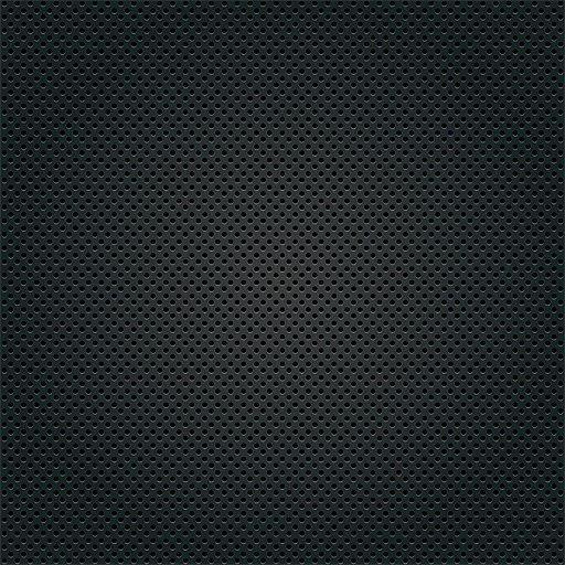 Black Microdots Metallic Texture