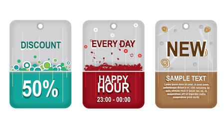 Promotional Sale Labels Pack