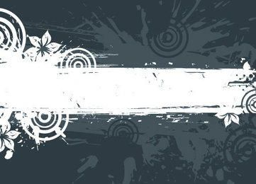 Grungy White Frame Abstract Background