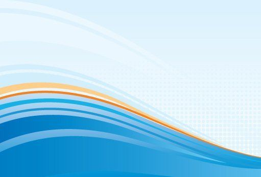 Blue White Waves Background - Vector download