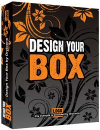 3D Floral Package Box