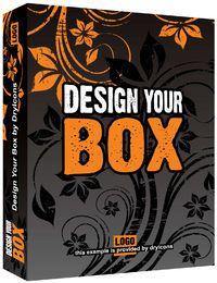 Caja de Paquete Floral 3D