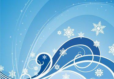 Fondo azul de invierno remolino