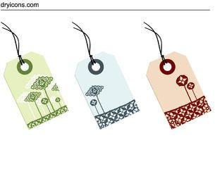 Lace Decoration Sale Tag Set