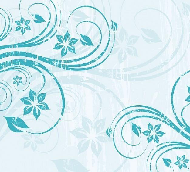 grungy blue swirls background vector download. Black Bedroom Furniture Sets. Home Design Ideas