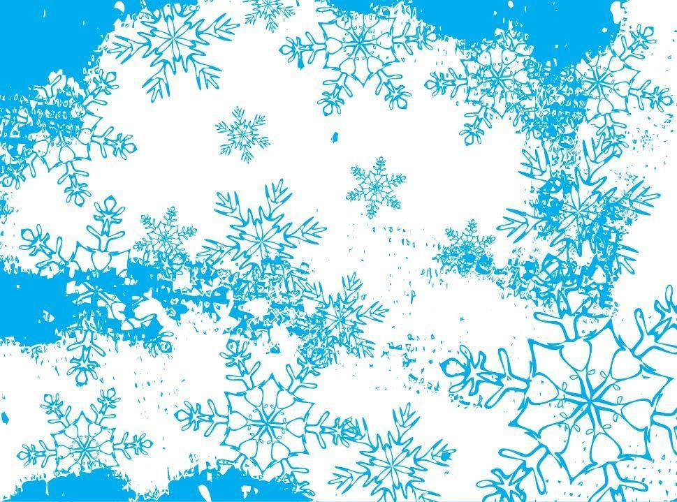 Antecedentes Frozen Resumen Copos De Nieve Descargar Vector
