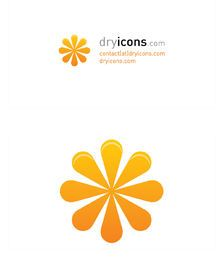 Floral Logo Business Card