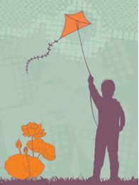 Kid Flying Kite Resumen Antecedentes