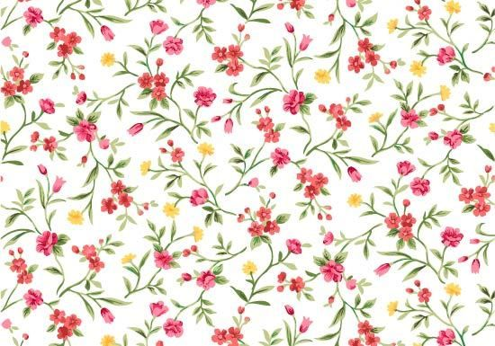 Seamless Watercolor Floral Pattern Vector Download