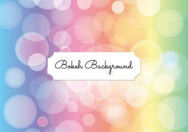 Bokeh pastel fondo de burbujas