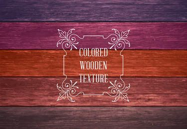 Colorful Wooden Textures