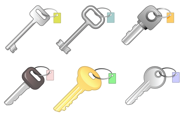 6 Different Keys Bundle